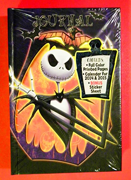 Nightmare Before Christmas 2020 And 2019 Journal Amazon.com: Tim Burton's Nightmare Before Christmas Journal Diary