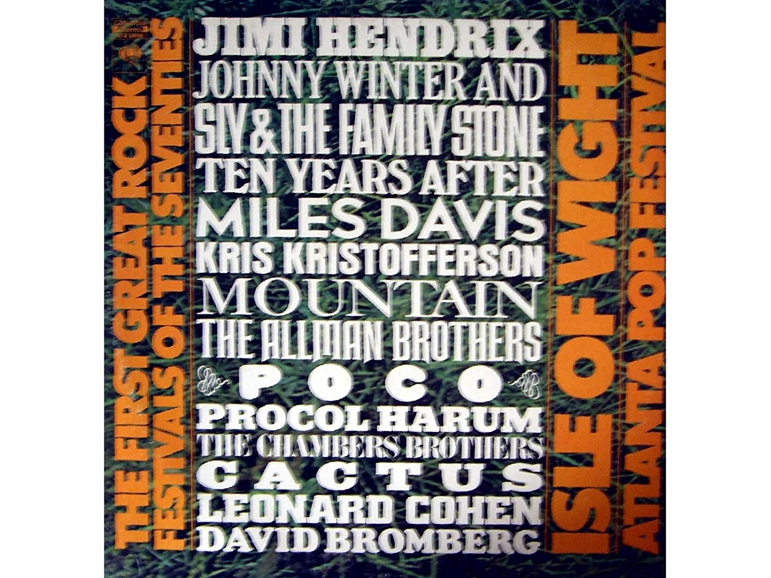 The First Great Rock Festivals of the Seventies: Isle of Wight ...