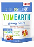 YumEarth Natural Gummy Bears, 10 Count, net wt. 7oz (Packaging May Vary)