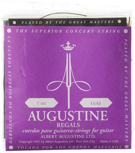 Augustine 7D60 - Juego de cuerdas para guitarra clasica, color ...