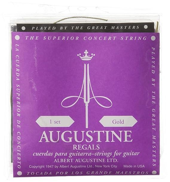 Augustine 7D60 - Juego de cuerdas para guitarra clasica, color morado: Amazon.es: Instrumentos musicales