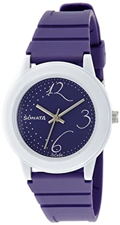 c9958dd74f7 Sonata Fashion Fibre Analog Black Dial Women s Watch -NJ8992PP02C