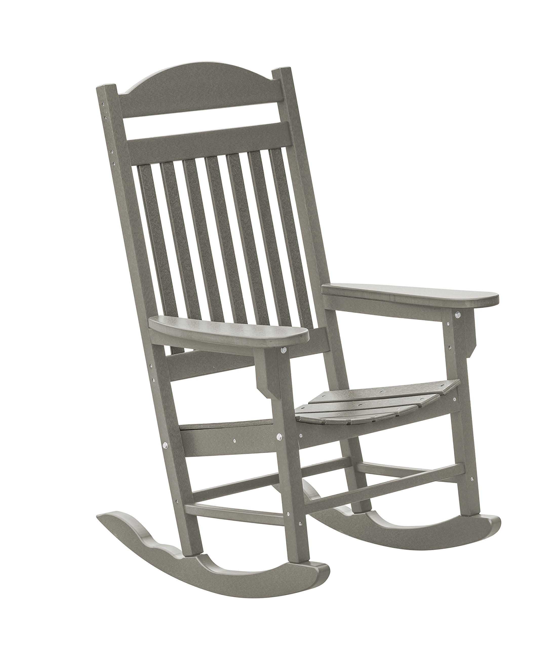 Little Cottage Company Lcc-101 Heritage Traditional Rocker, Light Gray