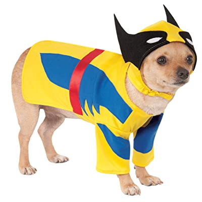 Rubie's Costume Co Marvel Universe Wolverine Pet Costume, Medium, Multicolor: Toys & Games
