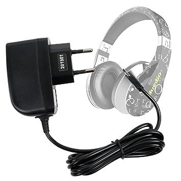 DURAGADGET Cargador (2 Amperios) para Auriculares Bluedio A ...