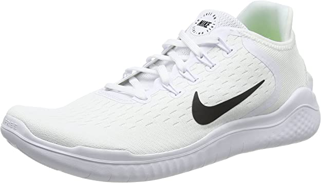 Nike Free RN 2018 , Zapatillas de Running Hombre, Blanco (White/Black 100), 48.5 EU: Amazon.es: Zapatos y complementos