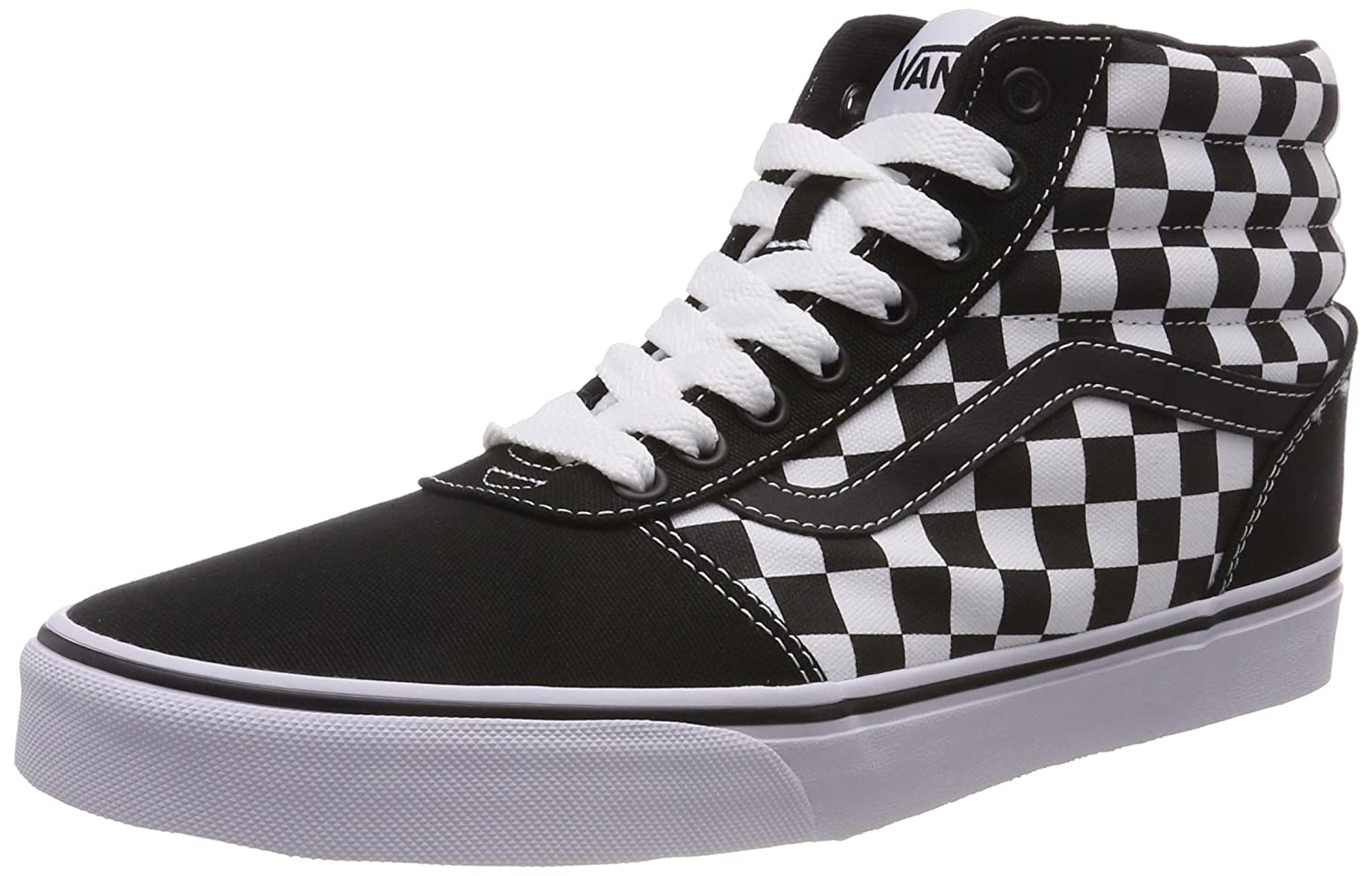 Vans Ward Hi Suede/Canvas, Baskets Hautes Homme
