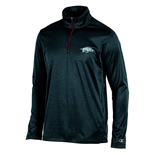 72fdc995f038 Amazon.com : Champion Adult Men Lightweight Quarter Zip W : Clothing