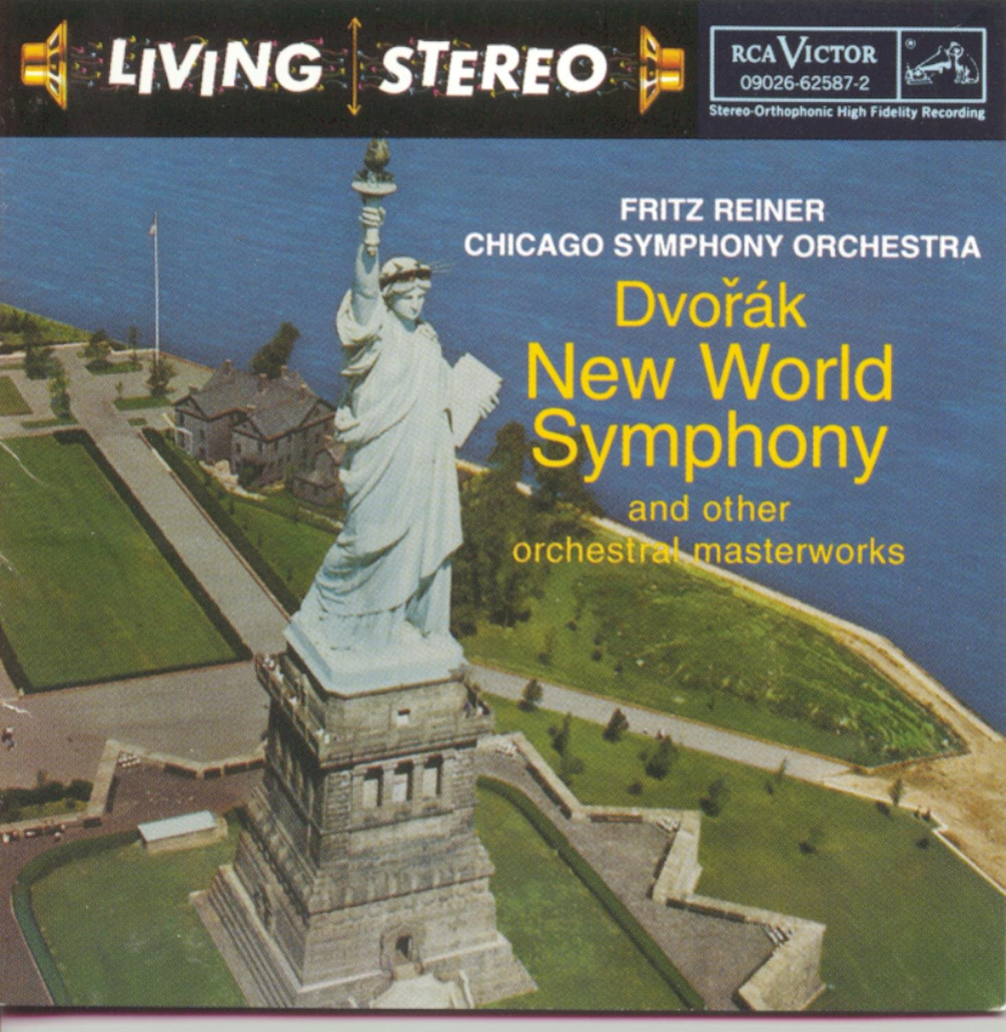 Dvorák: Symphony No. 9 - From the New World / Smetana: Bartered Bride Overture / Weinberger: Schwanda - Polka & Fugue by RCA GOLD SEAL