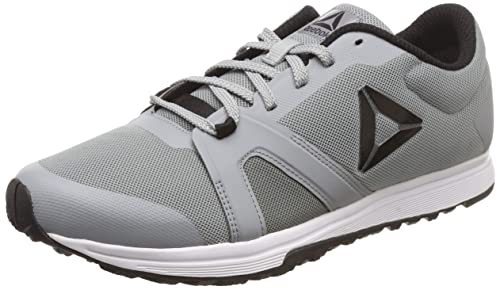 cddc41a06dfd58 Reebok Men s Mighty Trainer Flat Grey Black Running Shoes-6 UK India ...