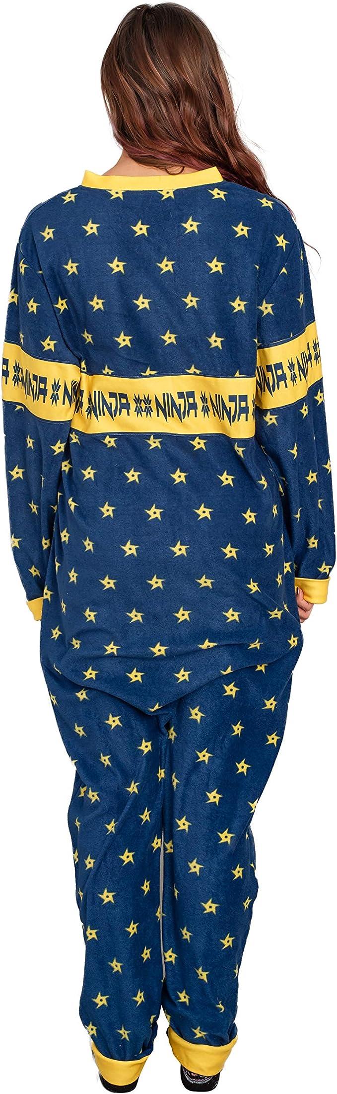 Amazon.com: Ninja Video Game Streamer Shurikens Pajama Union ...