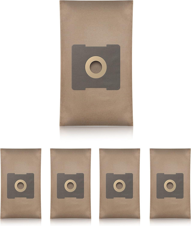 5 Piezas, Papel Wessper Bolsas de aspiradora para Solac Electronic 1500