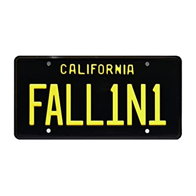 Celebrity Machines Lucifer | FALL1N1 | Metal Stamped License Plate: Automotive