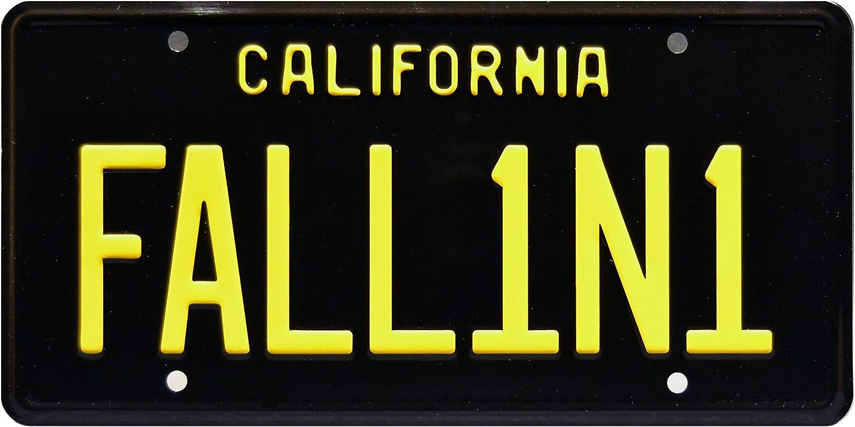 Celebrity Machines Lucifer   FALL1N1   Metal Stamped License Plate
