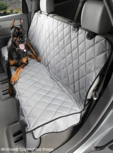 Amazon 4Knines Luxury Dog Seat Cover With Hammock