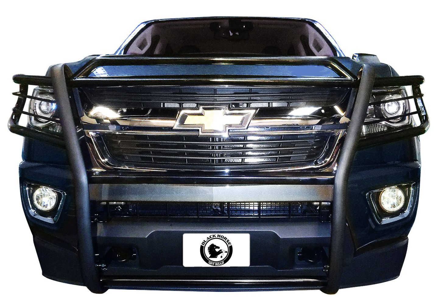 BLACK HORSE 17GC15MA Black Grille Guard