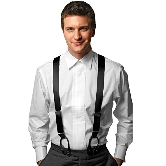 Amazon.com: HoldEm - Tirantes de seda 100% para hombre con ...