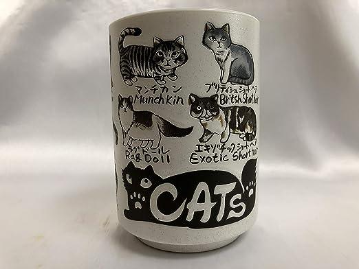 "Japanese Teacup /""Cat/"" Yunomi"