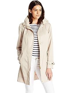 5c6e4269222d Amazon.com: Cole Haan Women's Single Breasted Packable Rain Jacket ...