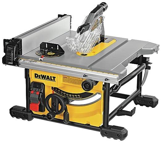 DEWALT DWE7485 - Sierra de mesa compacta de trabajo de 8 1/4 ...