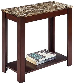 chair side table. crown mark devon chair side table