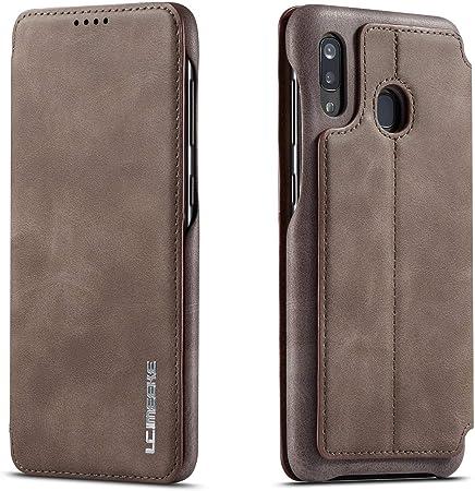 Qltypri Hülle Für Samsung Galaxy A40 Premium Pu Leder Elektronik