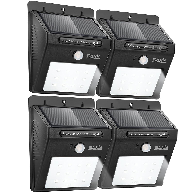 BAXIA TECHNOLOGY Outdoor Lighting Waterproof Motion Sensor Security Lights