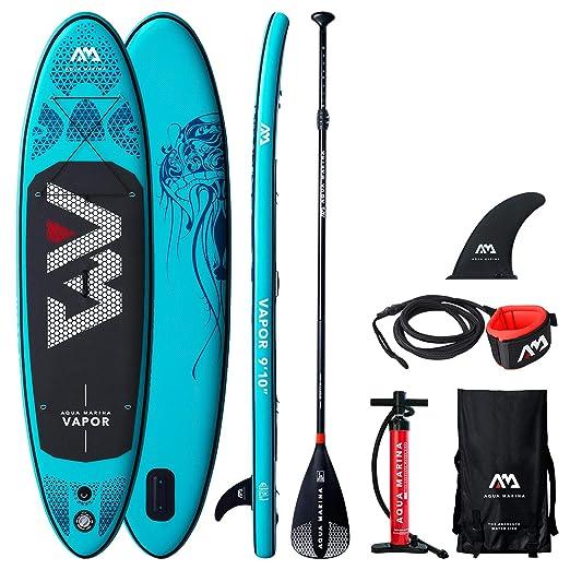 Happy Garden - Equipo de paddle surf Stand Up hinchable con ...