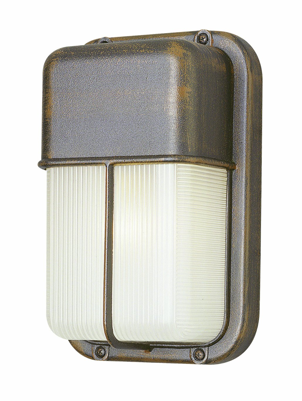 Black Bel Air Lighting Trans Globe Lighting 41103 BK Outdoor Well 10 Bulkhead