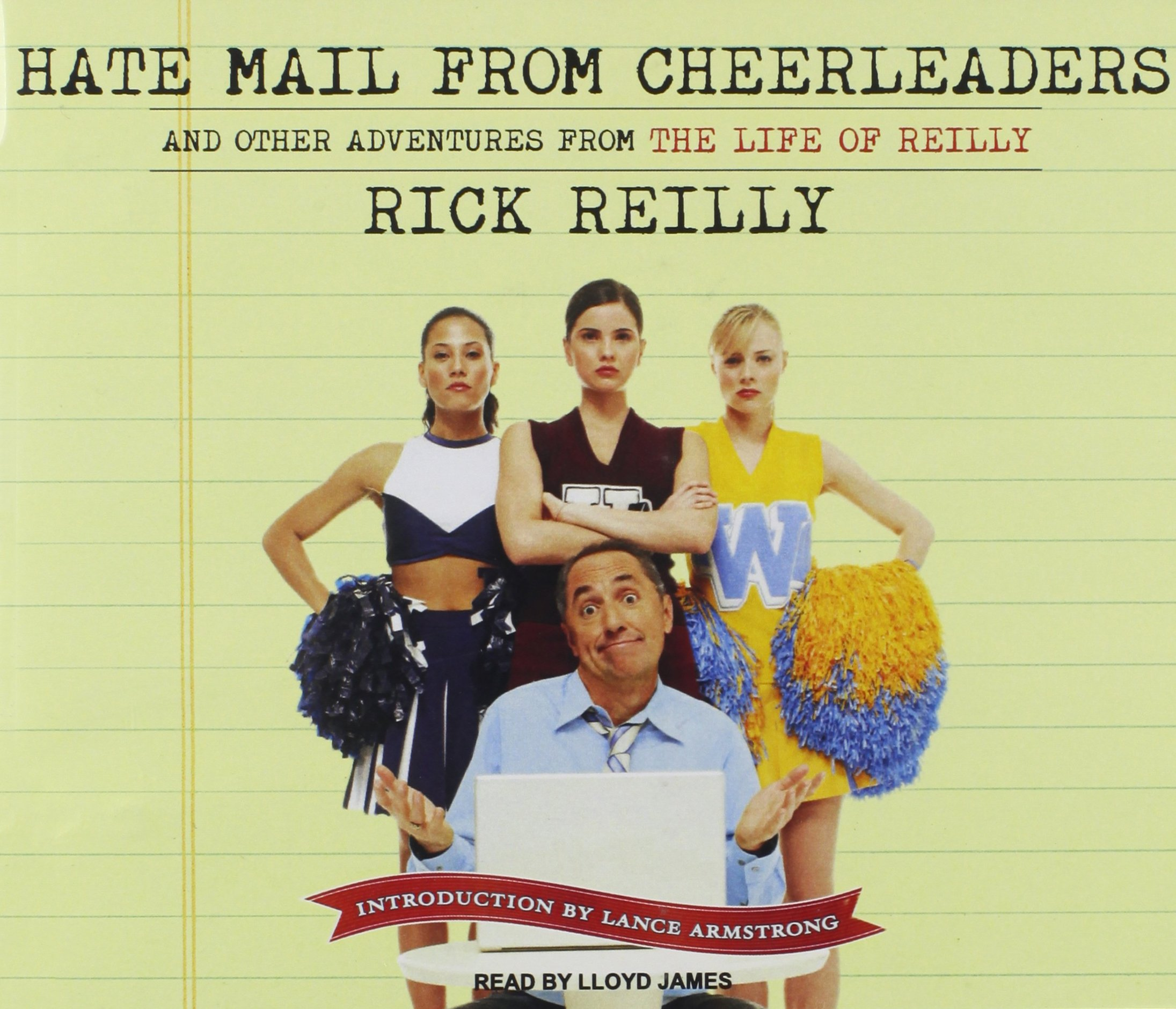 Hate Mail from Cheerleaders: And Other Adventures from the Life of Reilly by Tantor Audio (Image #1)