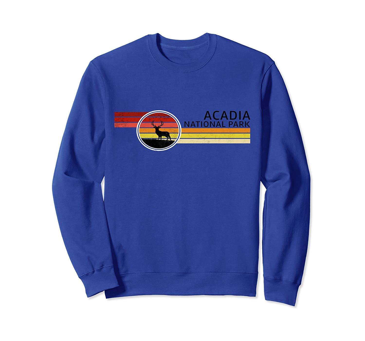 Acadia National Park Sweatshirt Warm Up Top Clothing Maine-ah my shirt one gift