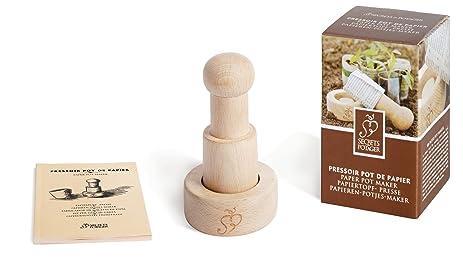 Amazon.com : Esschert Design USA W4008 Secrets du Potager Paper ...