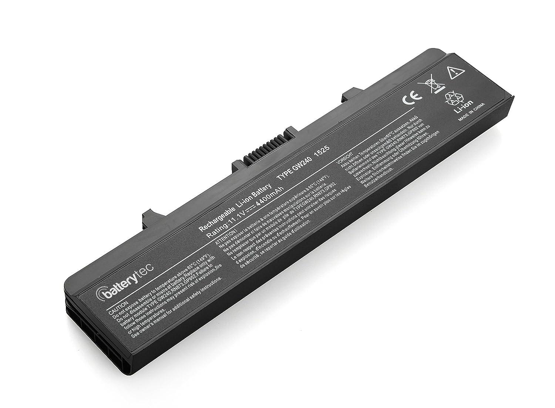 Batterytec ® batería del ordenador portátil del reemplazo para Dell Inspiron 1525 1526 1545 1750 GP952 K450N 0F965N X284G: Amazon.es: Electrónica
