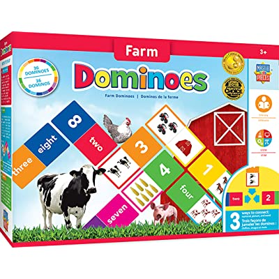 MasterPieces Educational - Farm Dominoes: Toys & Games