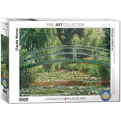 EuroGraphics The Japanese Footbridge by Claude Monet (1000 Piece) Puzzle: Toys & Games