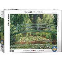 EuroGraphics The Japanese Footbridge by Claude Monet 1000-Piece Puzzle