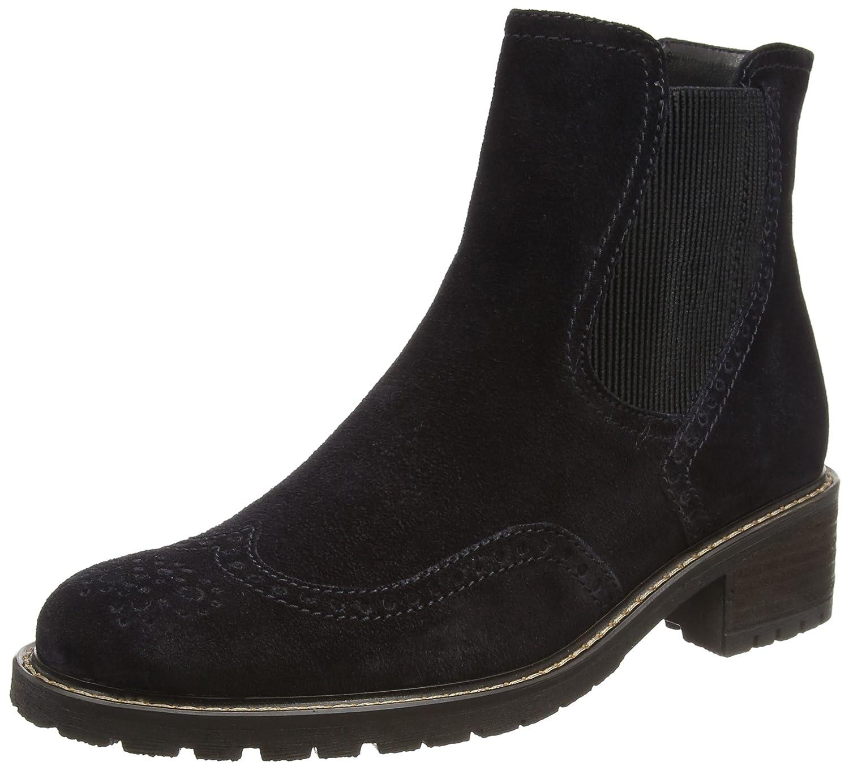 Blau (NightBlau (Mel.)) Gabor Damen Comfort Basic Stiefel