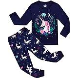 RKOIAN Little Girls' Unicorn Pajamas Sets Toddler Pjs 100% Cotton Kids Sleepwear