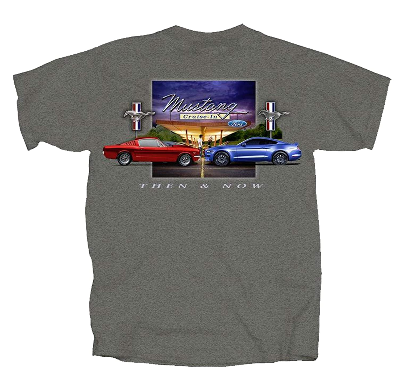 Joe Blow Ford Mustang Then /& Now T-Shirt