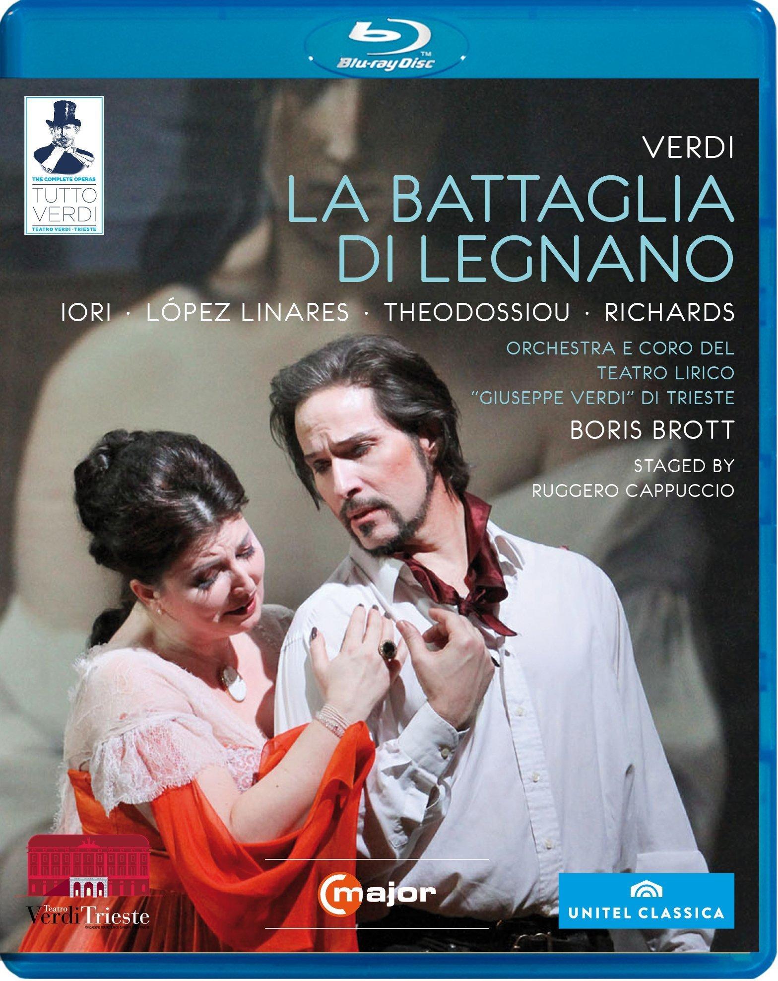Enrico Giuseppe Iori - La Battaglia Di Legnano (Blu-ray)