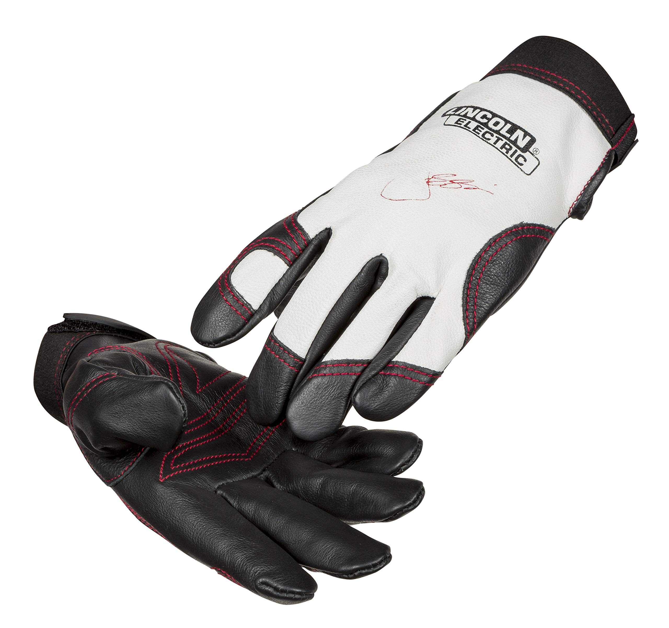 Lincoln Electric Women's Full Grain Leather Work Gloves | Padded Palm | Women's Small | K3231-S by Lincoln Electric