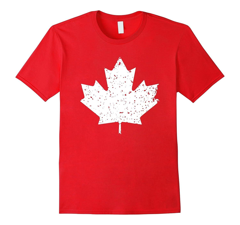 Funny Canadian Flag Tshirt - Canada Maple Leaf Pride-FL