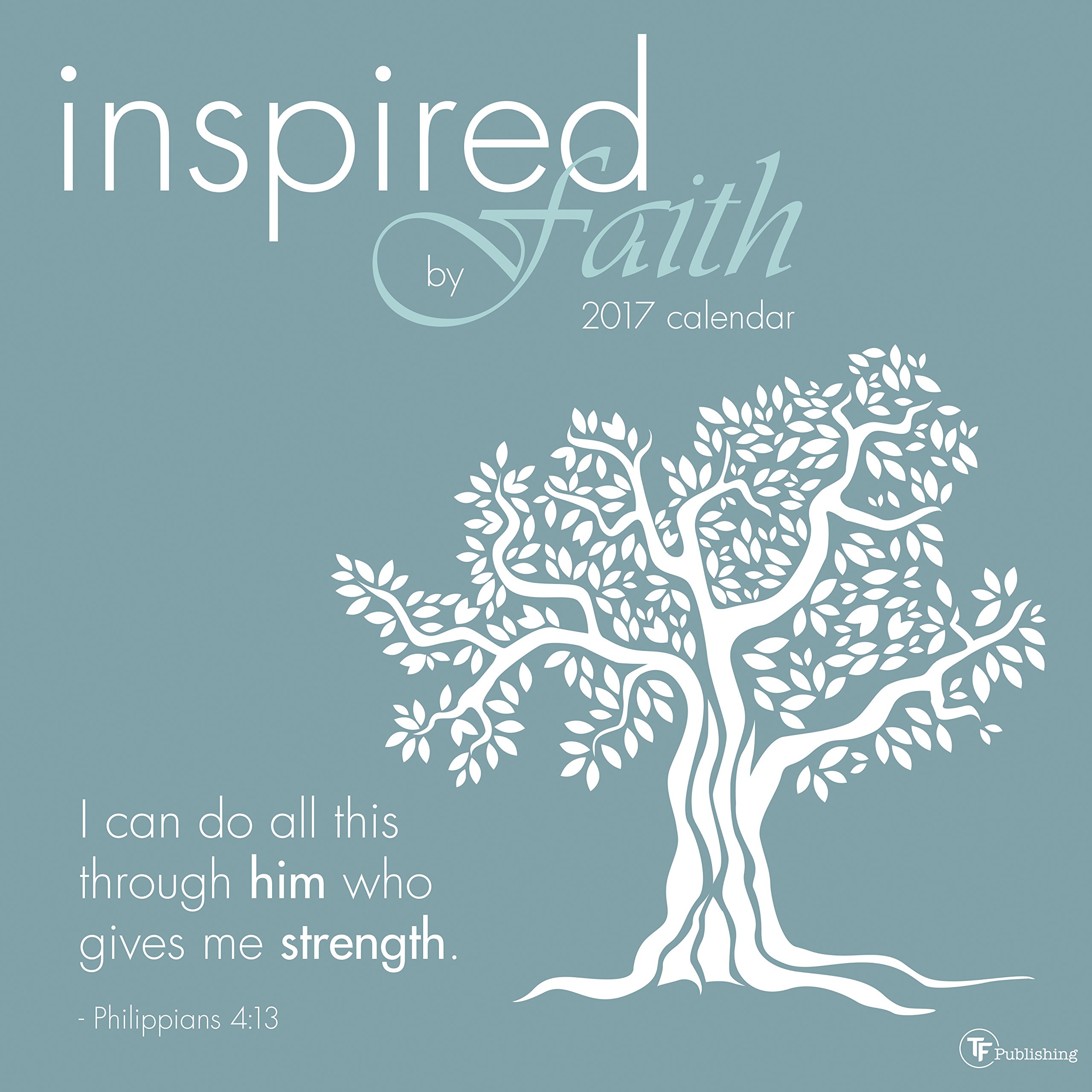 2017 Inspired by Faith Wall Calendar pdf