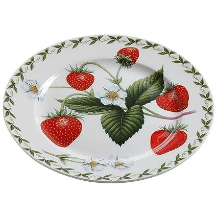 Maxwell & Williams PB8207 Orchard Fruits - Plato con diseño de fresas (20 cm)