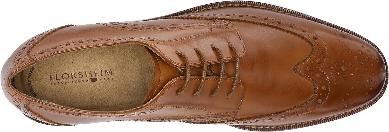 Florsheim Mens Montinaro Wingtip Ox Shoe Lace Up Oxford