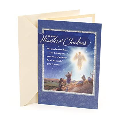 Beautiful Religious Christmas Cards.Dayspring Religious Christmas Card For Minister Serve With Grace And Caring