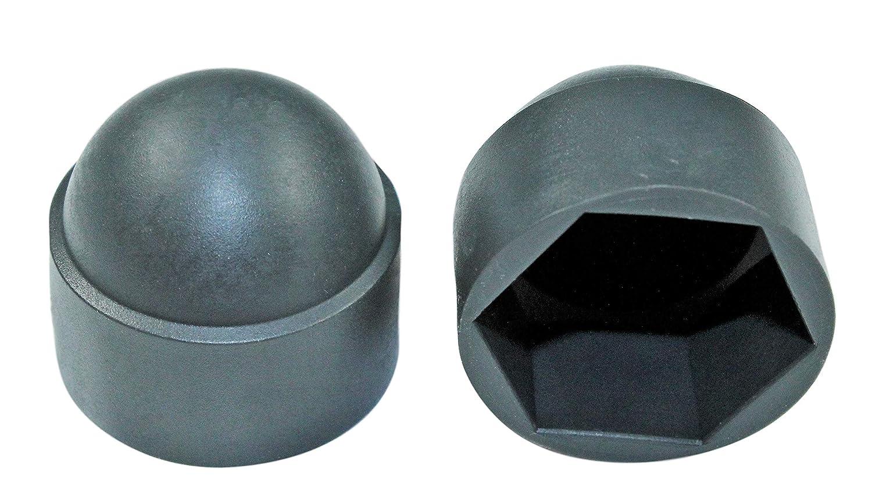 Gr/ö/ßen Auswahl von M4 bis M16 M8 // SW 13mm, Wei/ß SW 7 bis SW 24 SN-TEC Sechskant Abdeckkappen Kunststoff Farben Auswahl: schwarz//wei/ß // grau//anthrazit 50 St/ück