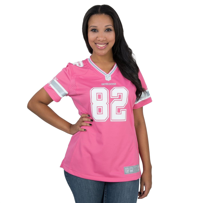 detailed pictures 65a6e 18011 Amazon.com : Dallas Cowboys Women's Jason Witten #82 Pink ...