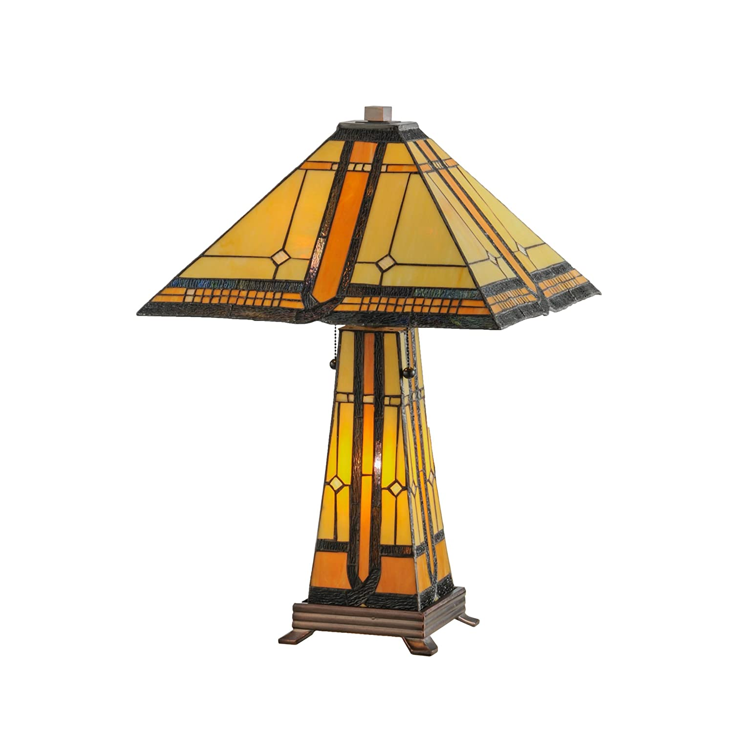 25 H Sierra Prairie Mission Lighted Base Table Lamp Amazon Com