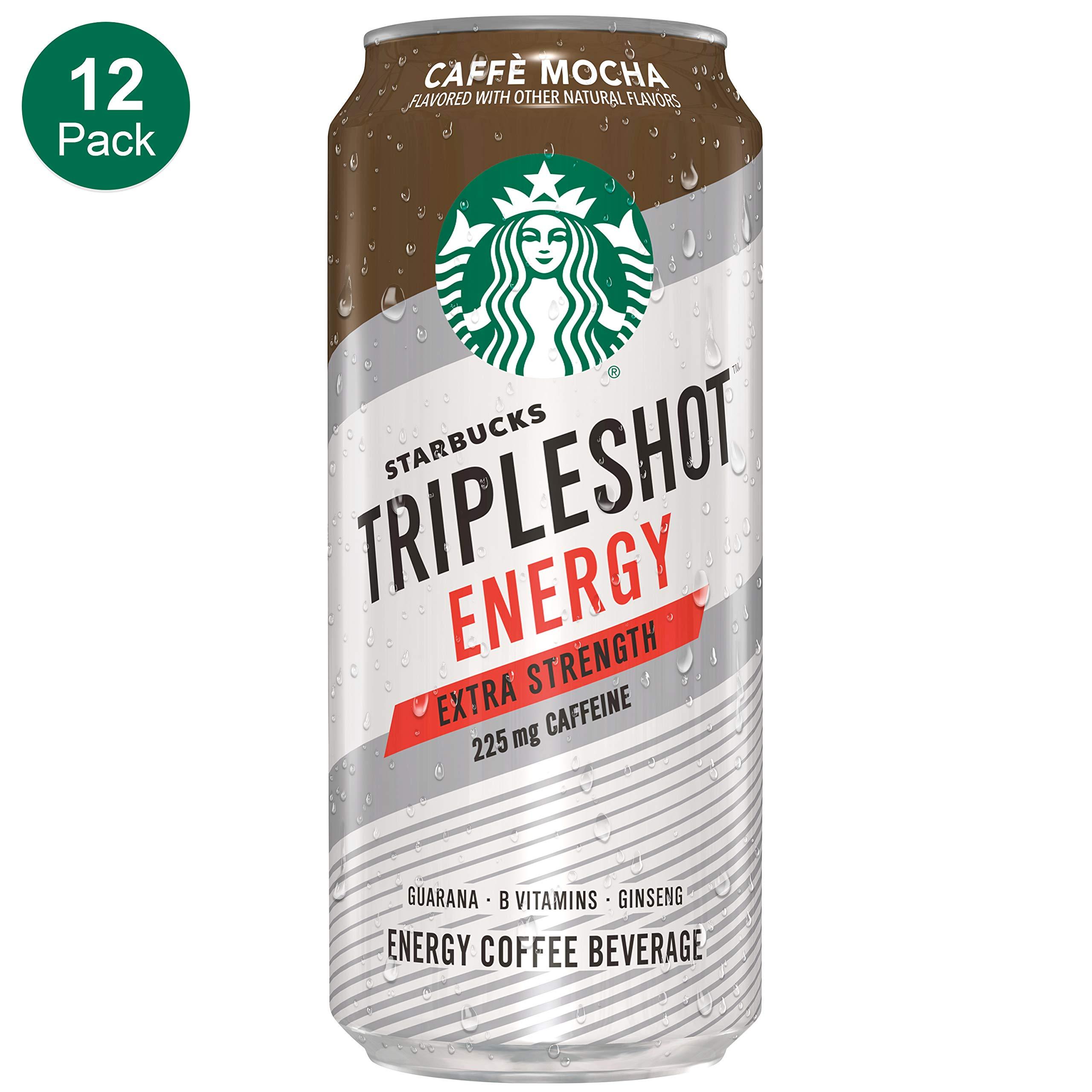 Starbucks, Tripleshot, Cafe Mocha, 15 fl oz. cans (12 Pack) by Starbucks